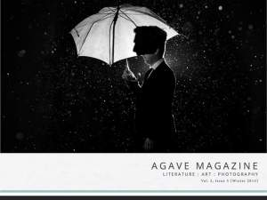 Agave Magazine Vol. 2 Issue 3 (Winter 2015) cover